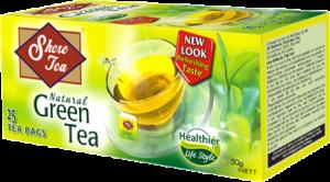 Կանաչ թեյ «Շերի»  փաթեթներով 25*2գ