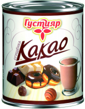 Cocoa ''Gustiyar''  Boiled condensed milk with sugar and cocoa 380g