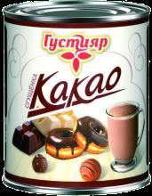 «Густияр»  Сгущенка с сахаром и с какао 380г