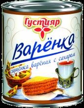 Варенка «Густияр» Сгущенка Вареная с сахаром 370г.