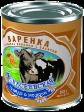 Варенка «Алексеевская»370г Сгущенка вареная с сахаром