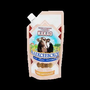 Сгущенное молоко с какао 270 г.