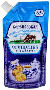 Кorenovskaya Condensed Milk with sugar  270g.