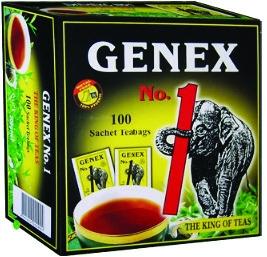 Սև թեյ «Ջենեքս №1» փաթեթներով 100*2գ