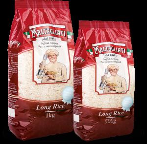 Рис длиннозерный шлифованный 500г / 1кг