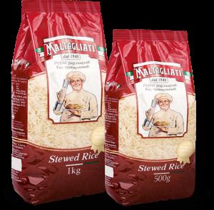 Рис пропаренный длиннозерный 500г / 1кг