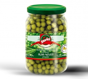 Green peas 680g  selective peas