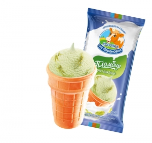 Ice creampistachio in a cup 70g
