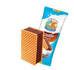 Ցhocolate Ice cream in waffles  80g
