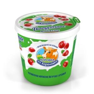Yogurt ice cream with lingonberries 80g