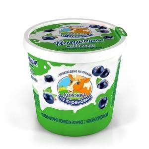 Yoghurt ice cream with black currant 80g