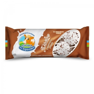 Ice cream with chocolate crumb 400g