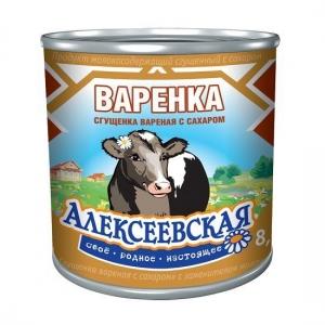 «Ալեքսեևսկայա» եփած խտացրած կաթ շաքարով 370գ.