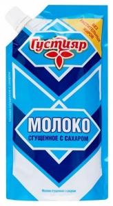 «Густияр»  Mолоко сгущенное с сахором 270г