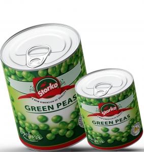 Green peas 800g/400g selective peas
