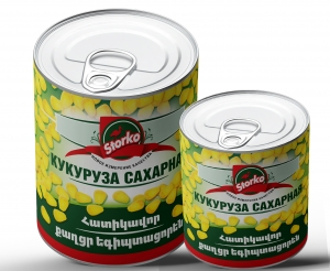 Corn 800g/340g canned sweet grains