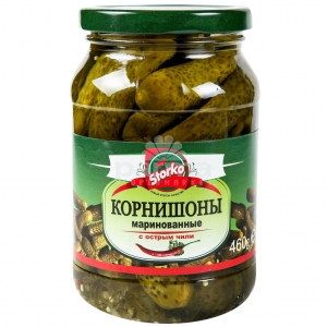Pickled Cornichons with spicy chili 460g/680g/1330g