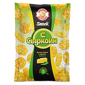 Syrkoin, Cheese Coins 200g