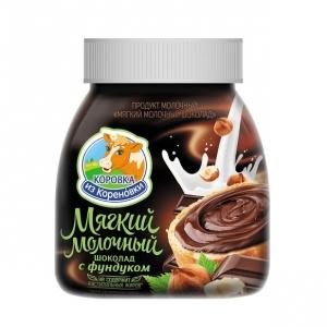 Мягкий Молочный Шоколад с фундуком 15% 330г