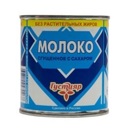 «Густияр» Mолоко сгущенное с сахором 370г
