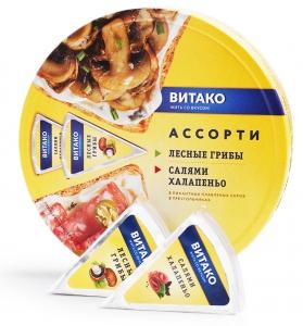 Сыр плавленый ассорти