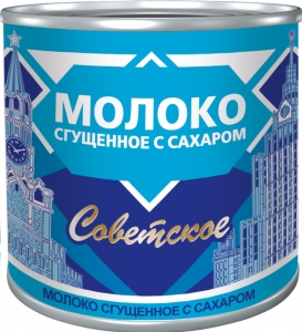 «Советское»  Молоко сгущенное  с сахаром 380г