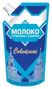«Սովետսկոյե» Խտացրած կաթ շաքարով  270գ