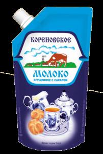 «Կորենովսկայա» խտացրած կաթ շաքարով 270 գ.