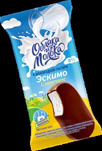 Эскимо сливочное в шоколадной глазури 70г
