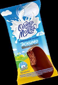 Эскимо сливочнoe шоколадное в шоколадной глазури 70г