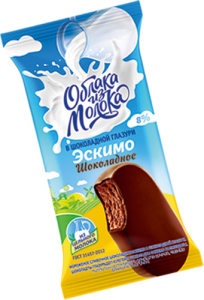 Eskimo creamy chocolate with chocolate glaze 70g