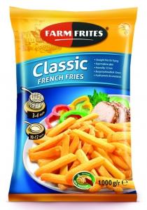 Картофель фри для  жарки 10 мм, 1000г