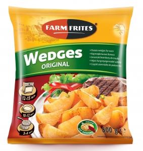 Картофельные дольки в кожуре 600г