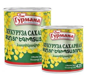 Sweet Corn 425 / 850 ml