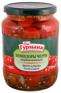 Pickled cherry tomatoes 720 ml
