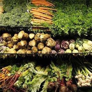 Раздел овощей